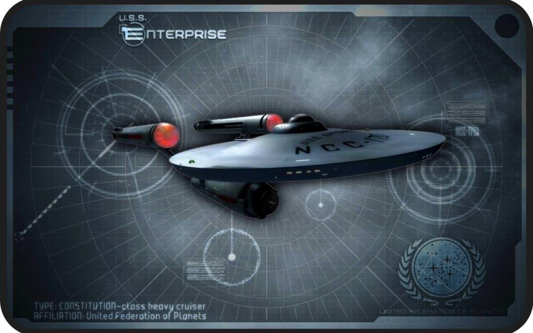 Come se fossi al comando dell'Enterprise…